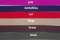 Standardgurt pink (PP) (UV)