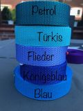 Standardgurt Türkis (PP) (UV)