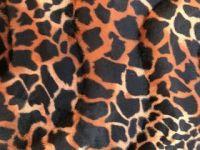 Fellimitat Giraffe dunkel