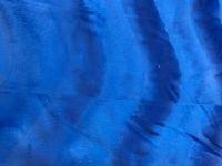 Fellimitat Plüsch Blau