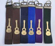 Schlüsselanhänger mit Metallende